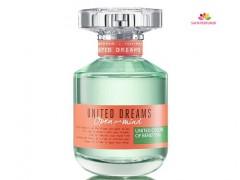 عطر زنانه یونایتد دریمز اپن یور مایند برند بنتون  ( BENETTON -  UNITED DREAMS OPEN YOUR MIND )
