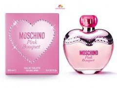 عطر زنانه پینک بوکت  برند موسچینو  (   MOSCHINO  -  PINK BOUQUET )