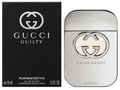 عطر زنانه گوچی گیلتی پلاتینیوم برند گوچی   (  GUCCI   -  GUCCI GUILTY PLATINUM FOR WOMEN    )