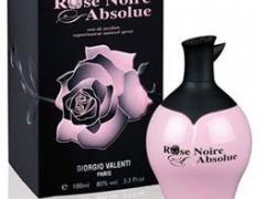 عطر زنانه رز نویر ابسولوت برند جورجیو والنتی  ( GIORGIO VALENTI  -  ROSE NOIRE ABSOLUTE   )