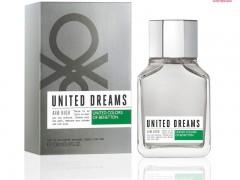 عطر مردانه  یونایتد دریمز ایم های برند بنتون  ( BENETTON -  UNITED DREAMS MEN AIM HIGH  )