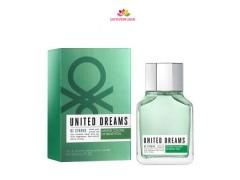 عطر مردانه  یونایتد دریمز بی استرانگ برند بنتون  ( BENETTON -  UNITED DREAMS MEN BE STRONG  )