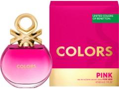 عطر زنانه کالرز د بنتون پینک  برند بنتون  (  BENETTON -  COLORS DE BENETTON PINK   )