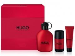 ست مردانه هوگو رد 3 تیکه  برند هوگو باس  (  HUGO BOSS  -  HUGO RED 3.P SET   )