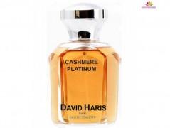 عطر مردانه کشمیر پلاتینیوم  برند دیوید هریس  ( DAVID HARIS  -  CACHEMERE PLATINUM   )