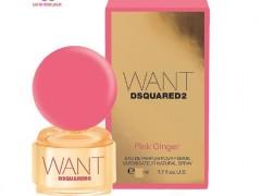 عطر زنانه وانت پینک جینجر  برند دیسکوارد  ( DSQUARED  -  WANT PINK GINGER  )