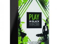 عطر  مردانه  پلی این بلک سداکشن برند آنتونیو باندراس  ( ANTONIO BANDERAS  -  PLAY IN BLACK SEDUCTION FOR MEN    )