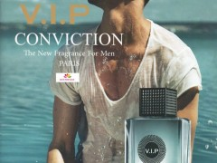 عطر مردانه وی آی پی کانویکشن برند الیسیس فشن  (  ELYSEES FASHION  -  V.I.P CONVICTION FOR MEN  )