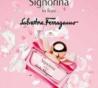 عطر زنانه سیگنورینا این فیوره  برند سالواتوره  فراگامو  (   SALVATORE  FERRAGAMO  -    SIGNORINA IN FIORE    )