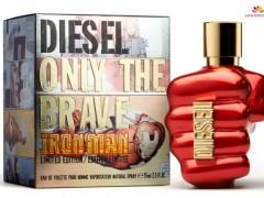 عطر مردانه انلی د بریو آیرن من  برند دیزل  (  Diesel  -  ONLY THE BRAVE IRON MAN  )