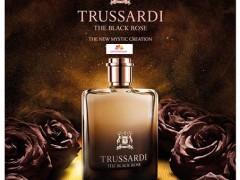 عطر مردانه و زنانه بلک رز برند تروساردی (  TRUSSARDI  -  THE BLACK ROSE  )