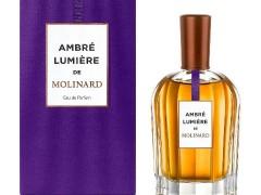 عطر زنانه و مردانه  امبر لومیر برند مولینارد  ( MOLINARD  -  AMBRE LUMIERE     )