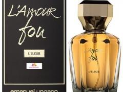 عطر زنانه  ال آمور فو ال الیگزیر  برند امانوئل اونگارو   (  EMANUEL UNGARO  -  L AMOUR FOU L ELIXIR   )
