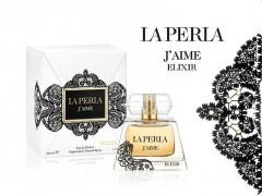 عطر زنانه ژیم الیگزیر برند لاپرلا  (   LA PERLA  -  J AIME ELIXIR )