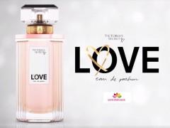 عطر و ادکلن زنانه لاو ادو پارفوم برند ویکتوریا سکرت  (  Victoria's Secret -  LOVE  EAU DE PARFUM     )