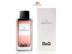 عطر و ادکلن زنانه دی اند جی آنتولوژی ال ایمپرتریس 3  برند دی اند جی  (  Dolce & Gabbana   -  D&G ANTHOLOGY L IMPERATRICE 3      )
