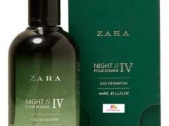 عطر مردانه زارا نایت 4 برند زارا  (  ZARA   -  ZARA NIGHT POUR HOMME 4    )