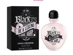 عطر و ادکلن زنانه بلک ایکس اس بی ا لجند دبی هری برند پاکو رابان  (  PACO  RABANNE  -  BLACK XS BE A LEGEND DEBBIE HARRY     )