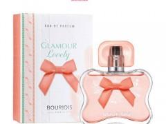 عطر و ادکلن زنانه گلمور لاولی برند بورژوآ   ( BOURJOIS   -  GLAMOUR  LOVELY    )