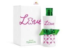 عطر و ادکلن زنانه لاو مومنتز برند توس  (  TOUS   -  LOVE MOMENTS  )