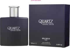 عطر و ادکلن مردانه کوآرتز ادیکشن برند مواینکس  (  MOLYNEUX  -  QUARTZ ADDICTION  )