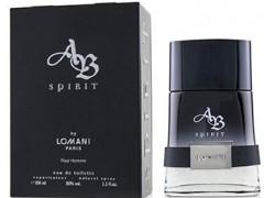 عطر و ادکلن مردانه ای بی اسپیریت برند لومانی  (  LOMANI  -    AB SPIRIT    )