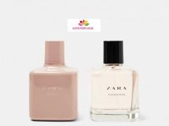 ست زنانه عطر و ادکلن تیوب رز - واندر رز برند زارا  (   ZARA   -  TUBEROSE - WONDER ROSE SET   )