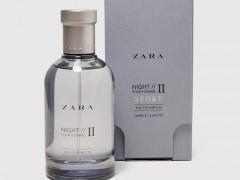 عطر و ادکلن مردانه نایت 2 اسپرت برند زارا  (  ZARA   -  ZARA NIGHT POUR HOMME 2 SPORT    )