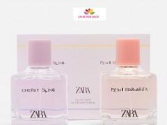ست زنانه عطر و ادکلن چری اسلینگ – پیچ مارگاریتا برند زارا  (   ZARA   -  CHERRY SLING - PEACH MARGARITA    )