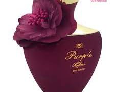 عطر و ادکلن زنانه پرپل افیر برند  آر اند آر  (  R