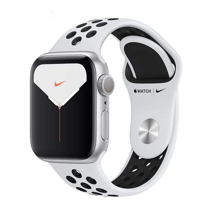 اپل واچ سری 5 مدل 40mm Aluminum Case With Nike Sport Band