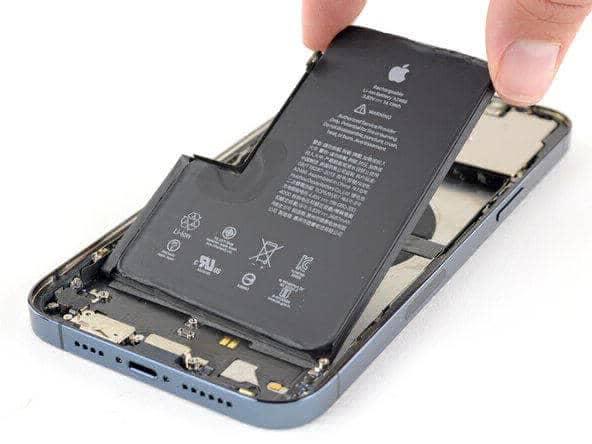 تعویض باتری آیفون 12 پرومکس