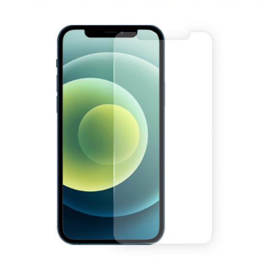 گلس محافض صفحه - آیفون12 - GREEN iPhone12  3D Armor Edge Anti- Broken Soft Edge -