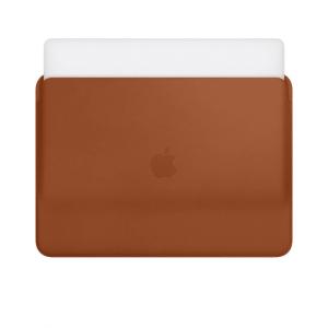 کاور چرمی مک بوک ایر و پرو  - قهوی - Leather Sleeve for 13-inch MacBook Air and MacBook Pro - Saddle Brown