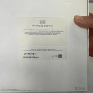 آیپد پرو 10.5 اینچی - 64 گیگابایت - wifi 2017 - مشکی - کارکرده