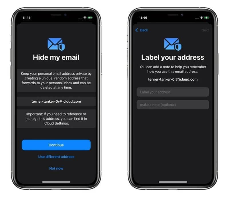 ساخت ایمیل جعلی در آیفون