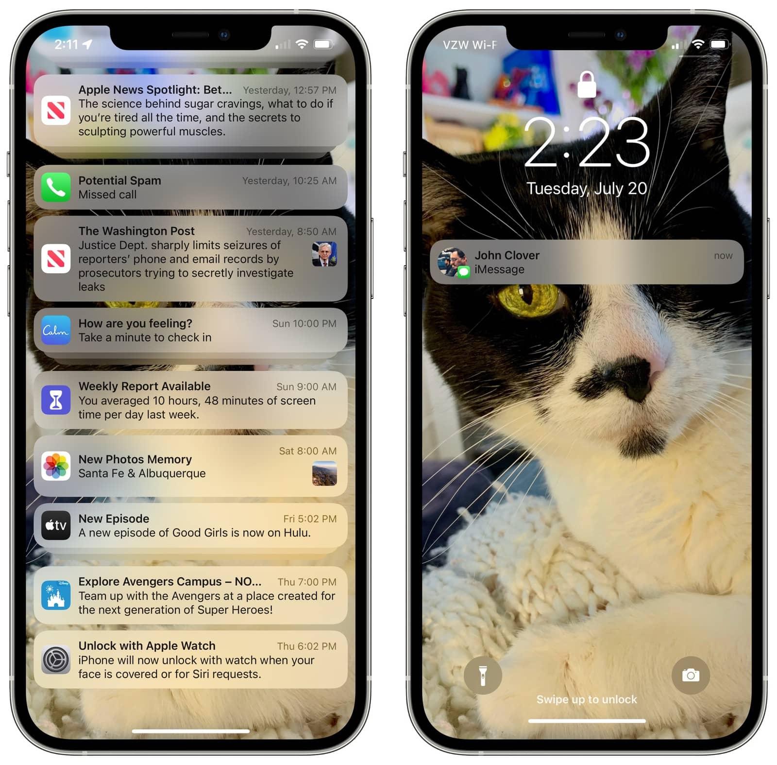 نوتیفیکیشنها در iOS 15