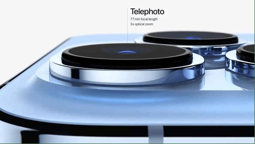 دوربین آیفون ۱۳