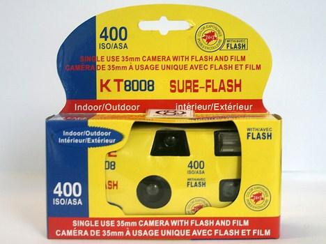 دوربین یکبار مصرف فلش دار