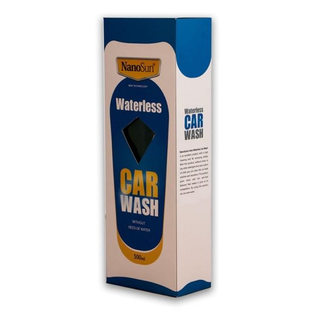 شستشوی خودرو بدون آب (واترلس کارواش)