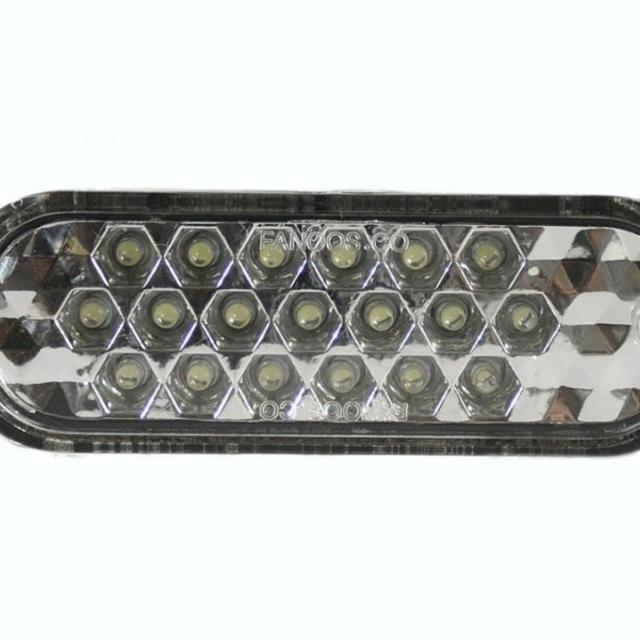 چراغ LED داخل سپر پراید طرح کندو