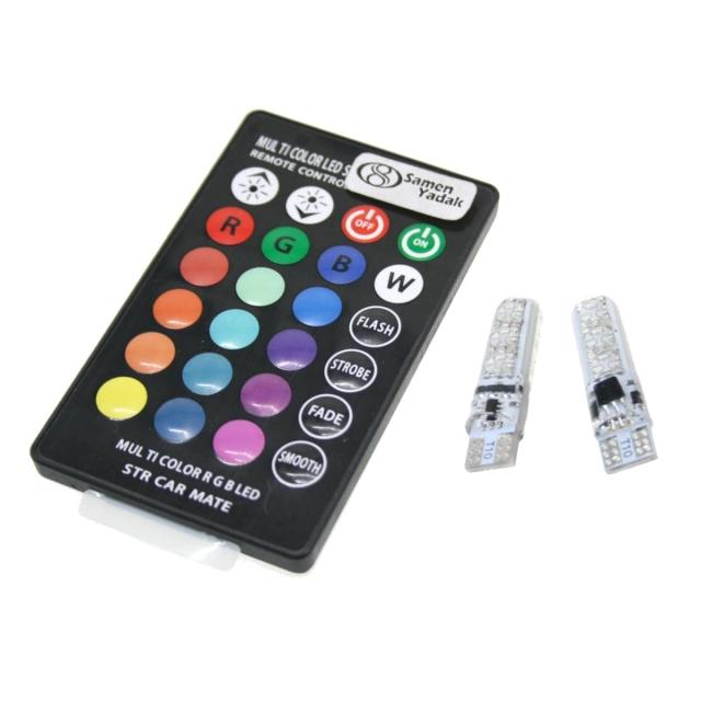 لامپ LED مدل RGB کنترل دار