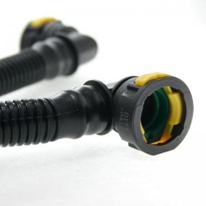لوله بخار روغن پژو 206 تیپ 5 ماد پارت با سوکت های اصلی