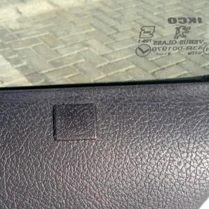 قطعه نصب شده کورکن درب پژو 206 همراه تقویت ضد سرقت درب 206 توساکو