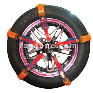 زنجیر چرخ پلیمری 10 بندی قرمز