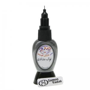 لاک خشگیر اتومبیل  رنگ نوک مدادی کد D16 - ایران خودرو   67919 - برلیانس نوک مدادی
