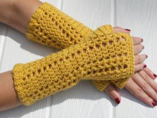 دستکش بافتنی مدل 01 sion