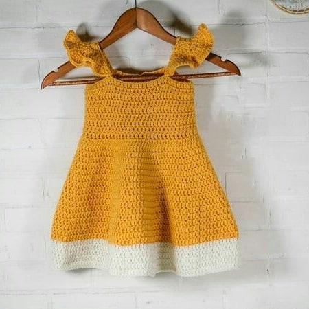 پیراهن نوزادی بافتنی مدل  Z-III-PP