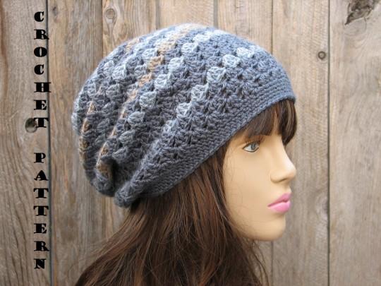 کلاه زنانه قلاب بافی