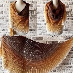روسری بافتنی یارن مدلII-TIU